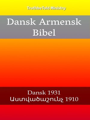 cover image of Dansk Armensk Bibel