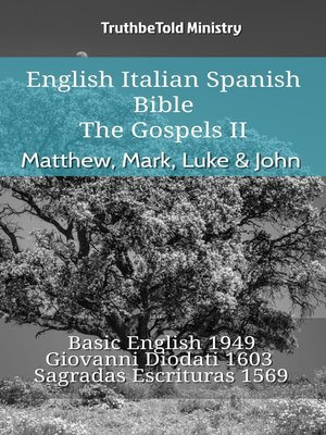 cover image of English Italian Spanish Bible--The Gospels II--Matthew, Mark, Luke & John