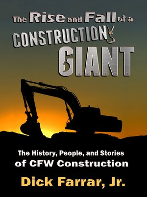 cover image of The Rise and Fall of a Construction Giant