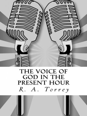 cover image of The Voice of God in the Present Hour