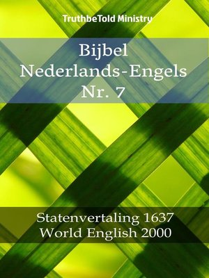 cover image of Bijbel Nederlands-Engels Nr. 7