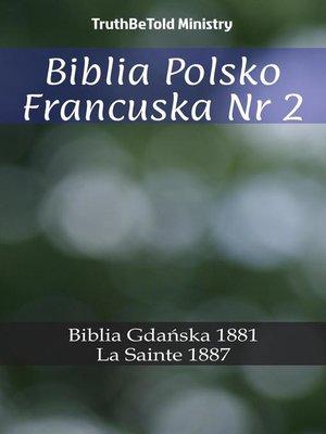 cover image of Biblia Polsko Francuska Nr 2