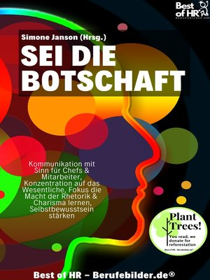 cover image of Sei die Botschaft