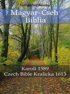 cover image of Magyar-Cseh Biblia