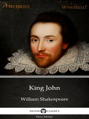 cover image of King John by William Shakespeare