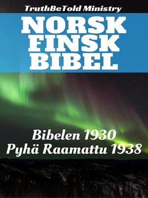 cover image of Norsk Finsk Bibel