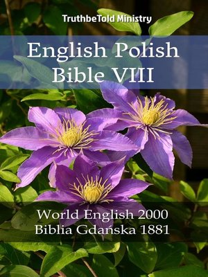 cover image of English Polish Bible VIII