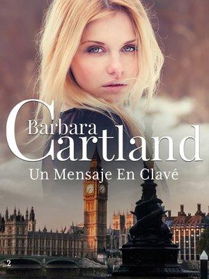 cover image of Un Mensaje En Clave