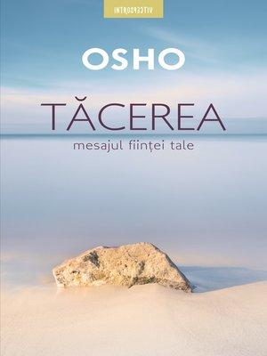 cover image of Tăcerea