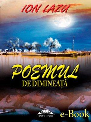 cover image of Poemul de dimineață