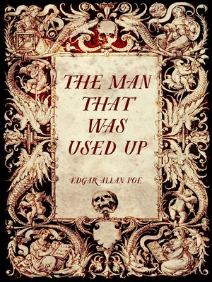 cover image of The Man That Was Used Up