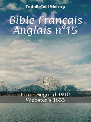 cover image of Bible Français Anglais n°15