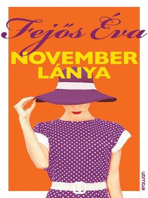 cover image of November lánya