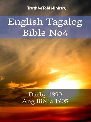 cover image of English Tagalog Bible No4
