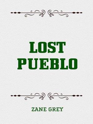 cover image of Lost Pueblo