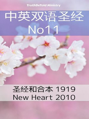 cover image of 中英双语圣经 No11