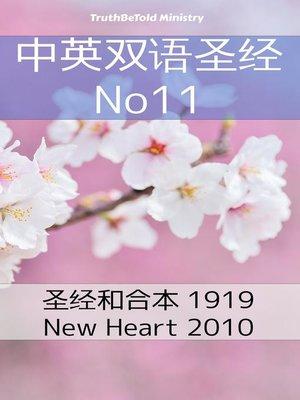 cover image of 中英双语圣经 No11
