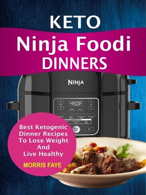 cover image of Keto Ninja Foodi Dinners