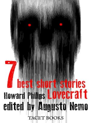 cover image of 7 best short stories of H.P. Lovecraft