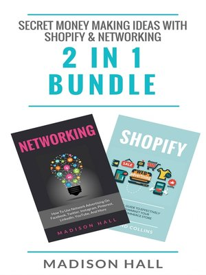 cover image of Secret Money Making Ideas With Shopify & Networking (2 in 1 Bundle)