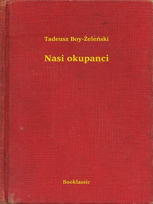 cover image of Nasi okupanci