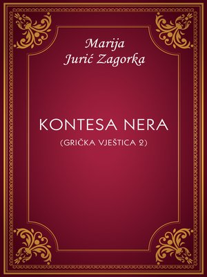 cover image of Kontesa Nera