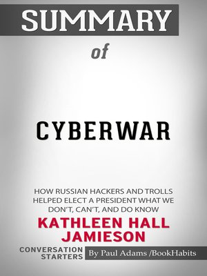 cover image of Summary of Cyberwar