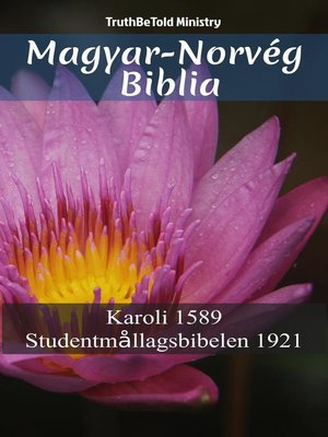 cover image of Magyar-Norvég Biblia