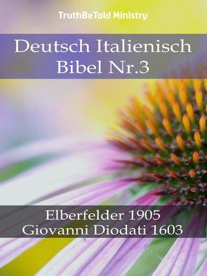 cover image of Deutsch Italienisch Bibel Nr.3