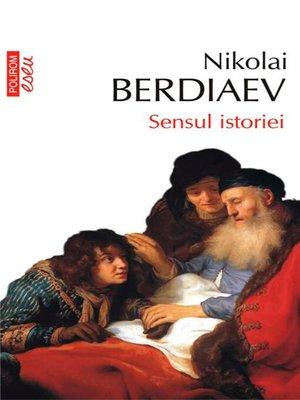 cover image of Sensul istoriei