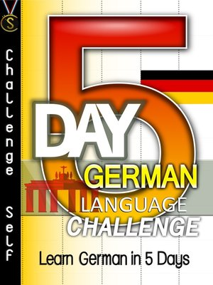cover image of 5-Day German Language Challenge