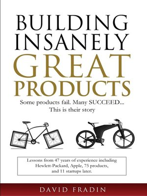 cover image of Building Insanely Great Products