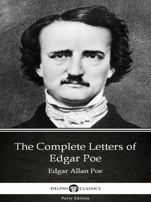 cover image of The Complete Letters of Edgar Poe by Edgar Allan Poe