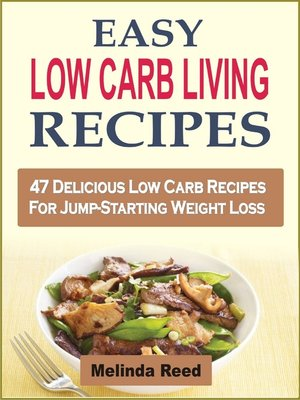 cover image of Easy Low Carb Living Recipes