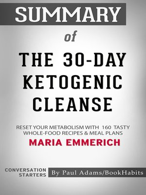 cover image of Summary of the 30-Day Ketogenic Cleanse