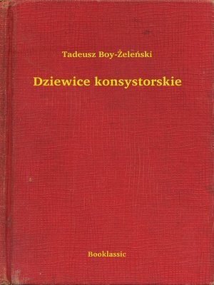 cover image of Dziewice konsystorskie