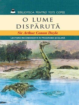 cover image of O lume dispărută