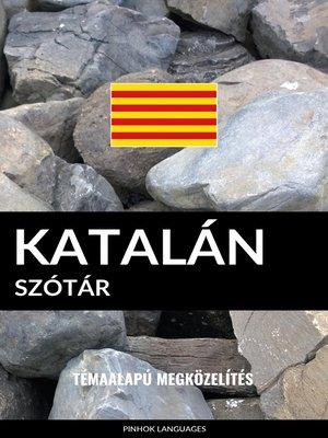 cover image of Katalán szótár