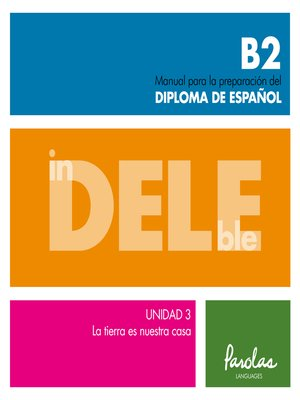 cover image of InDELEble B2. Unidad 3