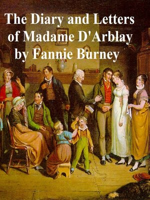 cover image of Diary and Letters of Madame d'Arblay