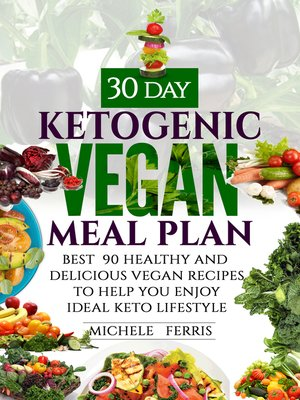 cover image of 30 Day Ketogenic Vegan Meal Plan