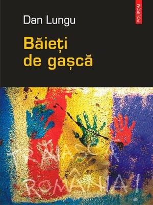 cover image of Baieti de gasca