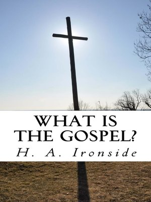 cover image of What is the Gospel?