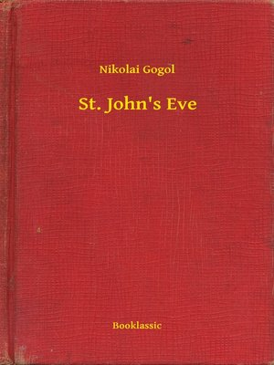 cover image of St. John's Eve