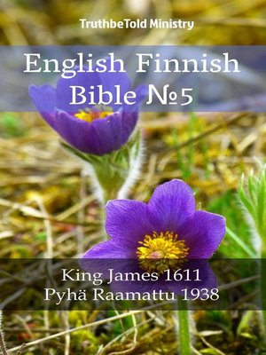 cover image of English Finnish Bible №5