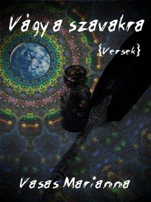 cover image of Vágy a szavakra