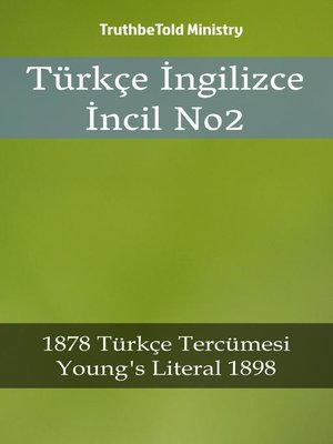 cover image of Türkçe İngilizce İncil No2