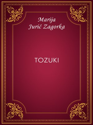cover image of Tozuki