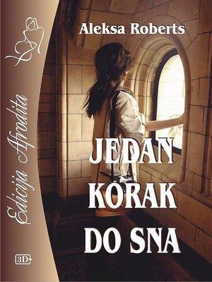 cover image of Jedan korak do sna