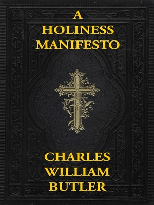 cover image of A Holiness Manifesto